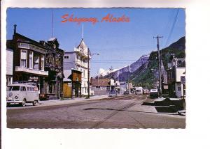 Downtown, Volkswagen Van, Trucks, Skagway, Alaska, Photo Dedman's