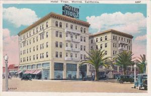 Hotel Tioga, MERCED, California, 1910-1920s