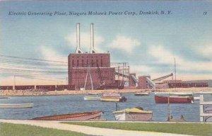 New York Dunkirk Electric Generating Plant Niagara Mohawk Power Corp
