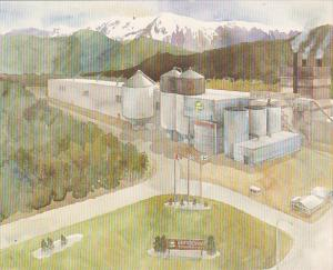 Canada Eurocan Pulp & Paper Company Kitimat British Columbia