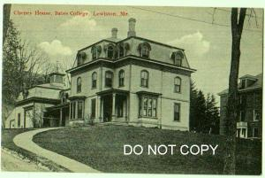 Cheney House, Bates College, Lewiston, Me