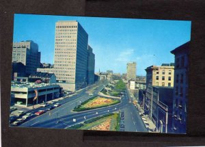 MD Preston Gardens Commercial Credit St Paul Place Baltimore Maryland Postcard