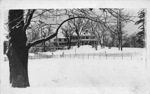 G31/ Cambridge Massachusetts RPPC Postcard c1910 Shady Hill Mansion 6