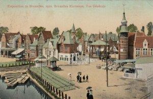 BRUXELLES , Belgium, 1910 Exposition ; Bruxelles Kermesse