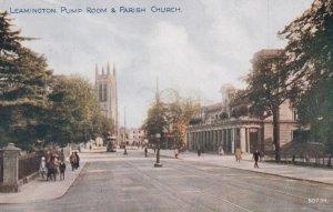 LEAMINGTON SPA, UK, 1910-30s ; The Pump Room & Parish Church