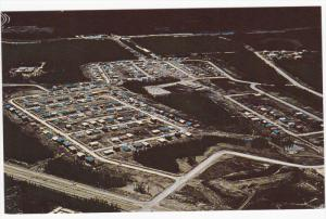 Aerial view of THOMPSON, Manitoba, Canada, 40-60's
