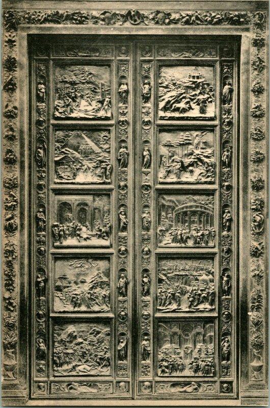 Cppr Firenze Florence - Lorenzo Ghiberti Porta Detta Dell Paradiso Stengel & Co