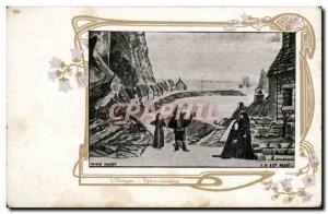 Entertainment - Opera Comique - L & # 39Ouragan - Old Postcard