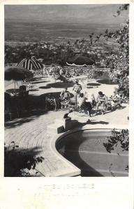D41/ Petion-Ville Haiti Foreign RPPC Postcard c1950 Hotel Ibo Lele Stamp