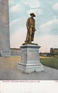 Massachusetts Colonel William Prescott June 17 1775