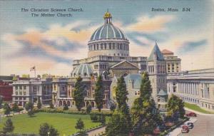 The Christian Science Church The Mother Church Boston Massachusett