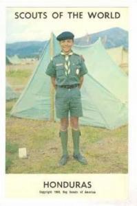 Honduras Boy Scout, 1968