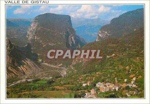 Postcard Modern Valle Gistau Pirineo Aragones Saravillo
