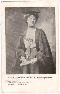 Miss Florence Bartle, Physiognomist