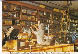 Canada Calgary Botsford Harness Shop & Hardware Heritage Park
