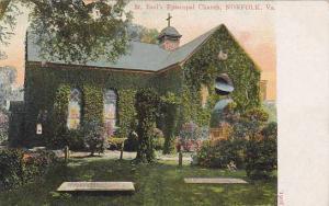 St. Paul's Episcopal Church, Norfolk, Virginia, PU-1907