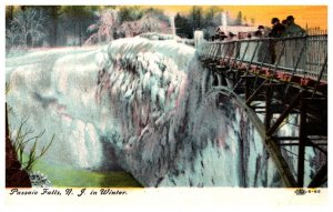 New Jersey  Passaic Falls in WInter