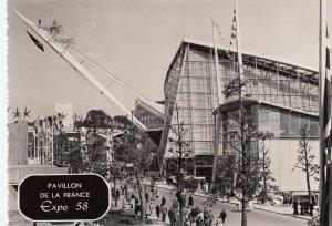 RP: EXPO 58 , BRUXELLES , Belgium ; Pavilion De La France