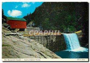 Postcard Modern New Brunswick Canada Land of Infinite Variety