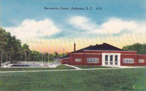 Recreation Center Anderson South Carolina