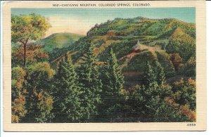 Colorado Springs, CO - Cheyenne Mountain - 1941