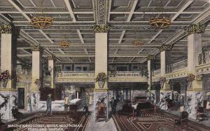 PORTLAND, Oregon; Magnificient Lobby, Hotel Multnomah, 00-10s