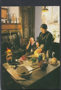 History Postcard - The Black Country Museum, Dudley - The Chainmakers T7025