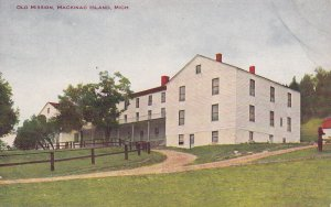 MACKINAC ISLAND, Michigan, 1900-1910s; Old Mission