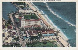 MIAMI BEACH , Florida ,1930-40s ; Rony Plaza Hotel & Roman Pools