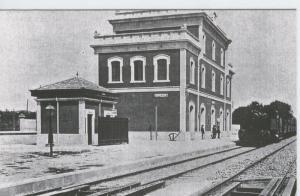 Postal 012353: Estacion de Breda (Girona), a? 1914