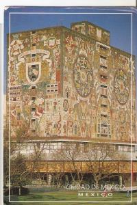 Postal 043264 : Ciudad de Mexico. Biblioteca de la Unam por Juan OGorman