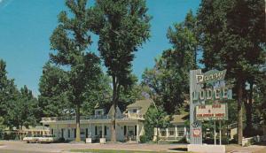 Exterior,Perry Lodge,Kanab,Utah,40-60s