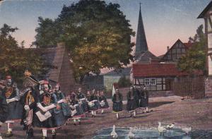 Hessische Trachten , Hochzeitszug , Germany , 00-10s