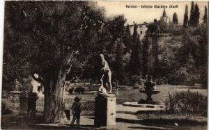 CPA VERONA Interno Giardino Giusti . ITALY (493798)