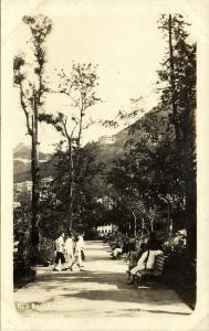 china, HONG KONG, Old Botanic Garden (1910s) RPPC Postcard