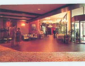1980's AIRPORT HILTON HOTEL San Francisco California CA c0818