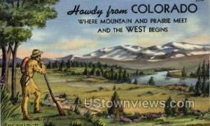 Howdy from Colorado