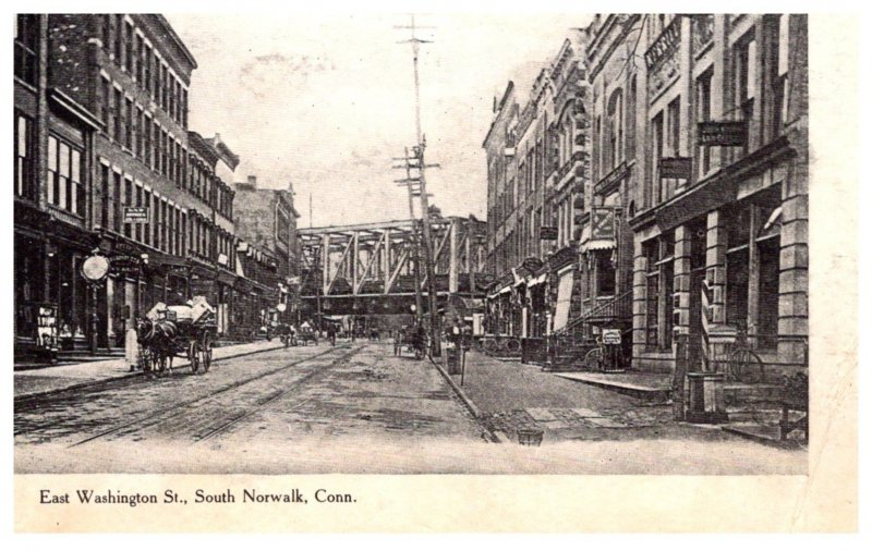 Connecticut South Norwalk , East Washington Street