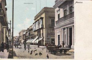 Mexico Calle de Vera Cruz Typical Street Scene sk3330