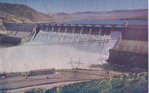 Washington Grand Coulee Dam Showing View Point