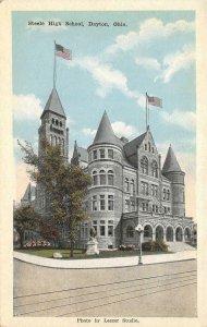 Steele High School, Dayton, Ohio c1920s Vintage Postcard