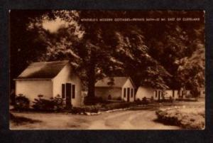 OH Winfield Cottages nr CLEVELAND OHIO Postcard PC