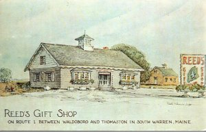 Maine South Warren Reed's Gift Shop 1961