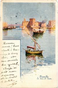 CPA MARSEILLE Le Tour St-JEAN (410173)