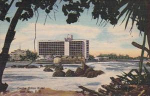 Perto Rico San Juan The Caribe Hilton Hotel Curteich