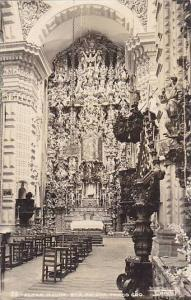 RP, Interior- Altar Mayor, Sta. Prisca, Taxco Gro., Mexico, 1930-1950s