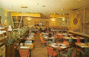 Rocky Mount North Carolina Rio Restaurant Interior Vintage Postcard K87687