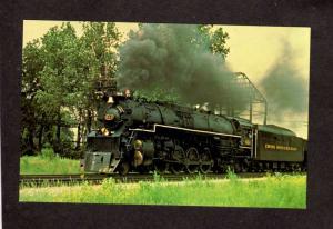Chessie System Chesapeake & and Ohio Railroad Train Locomotive 614 Postcard RR