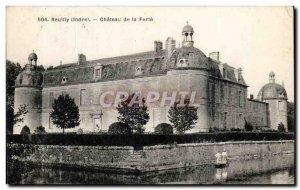Old Postcard Reuilly (Indre) Chateau de la Ferte