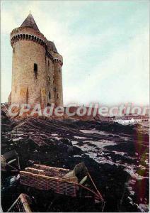 Modern Postcard Saint Malo Saint-Servan Solidor tower built in the fourteenth...
